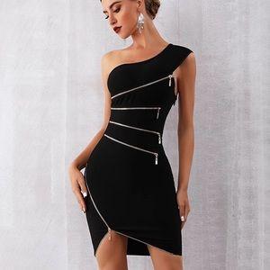NIB / Sexy One Shoulder Bandage Dress